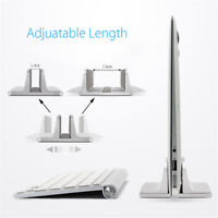 Laptop Stand Desktop Vertical Space Saving Stand Holder for MacBook Pro Notebook