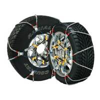 Super Z 6 Compact Cable Tire Snow Chain Set for Cars, Trucks, and SUVs | SZ137