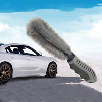 Car Cleaning Tools Tire Accessories Plastic Handle Clean Wheel Brush Gray 1pcs