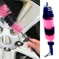 1x Car Wheel Tire Rim Scrub Brush New Excellent Washing Vehicle Cleaning Tools