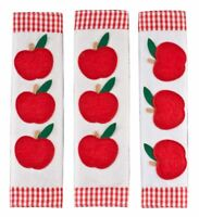 Apple Appliance Handle Covers, Set of 3, Red