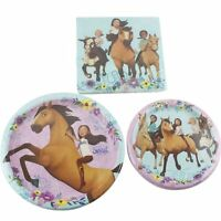 Spirit Riding Free Horse Birthday Party Supplies 16 Plates Napkins