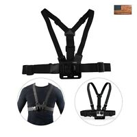 Adjustable Chest Strap For GoPro Go Pro Camera Elastic Mount Hero 2 3 3+ 4 5 6