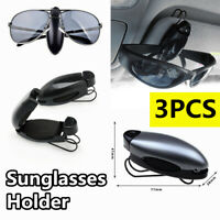 Universal Car Auto Sun Visor Glasses Card Ticket Sunglasses Clip Holder Black US