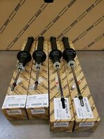 LEXUS OEM FACTORY FRONT AND REAR SHOCK SET 2001-2003 LS430 (NON SPORT PACKAGE)