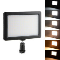 Dimmable 192 LED 1350LM 12W Photo Video Light Lamp Panel for Nikon Camera DC764