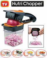 Nutri Chopper As Seen On TV 5-in-1 Handheld Kitchen Slicer, Just Squeeze