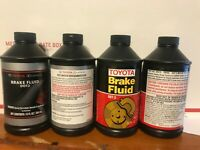 GENUINE DOT 3 Brake Fluid 12 fl. oz 00475-1BF03 for Lexus and Toyota x 5 bottles
