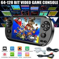 """5.0"""" 128 Bit Handheld Video Game Built-In 1000 Games Portable Console Player US"""