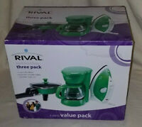 Rival 3 Pack Appliance Green