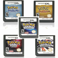 Nintendo DS - Pokemon Games - HeartGold SoulSilver Platinum Diamond Pearl