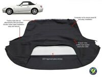 Fits: Honda S2000 1999-2001 Convertible Soft Top With Glass Window AP1