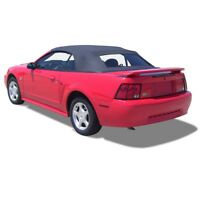 Ford Mustang Convertible Top And Glass window Black Sailcloth 1994-2004