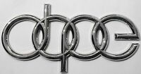 DOPE Audi Emblem [Lot of 25] Free Priority Shipping!
