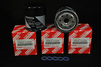 90915-YZZD1,Qty 5, Toyota Oil Filters With Drain Plug Gaskets