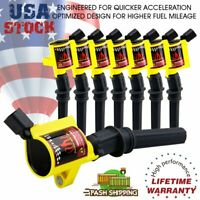 Super Ignition Coil Pack 8 For Ford F150 F250 F550 4.6/5.4L DG508 V8 V10 Lincoln