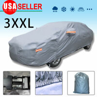 SUV Full Car Cover Waterproof Breathable UV Dust Rain Snow Resistant Protection