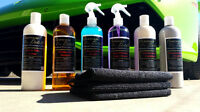 Concours Detail Brand Premium Protection & Shine Car Cleaning Kit