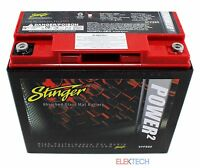 Stinger SPP680 Battery 680 AMPS SPP Series Dry Cell Car Audio w/ Steel Case New
