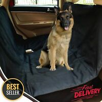 Pet Car SUV Van Back Rear Bench Seat Cover Waterproof Hammock for Dog Cat NEW