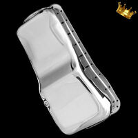 Chrome Big Block Ford Oil Pan fits 429 460 Passenger Car Engines Front Sump