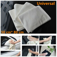 New 50 x 80cm Chamois Leather Universal Car Cleaning Towels Drying Washing Cloth