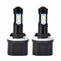 2x 880 890 892 893 899 100W 6000K Xenon White CREE Chip LED Fog Light Bulbs