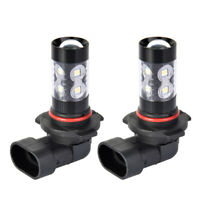 2 White 200W Cree 9145 9140 H10 LED Bulb Fog Driving Light For Ford F-150 Escape