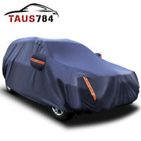 17ft SUV Full Car Cover Waterproof Snow Rain Resistant All Weather Protection US