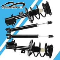 For 2001-02 Honda Civic 1.7L Front Rear Complete Shock Struts & Springs Assembly
