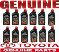 12X Genuine  WS ATF World Standard Automatic Transmission Fluid Oil for Toyota !