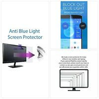 Anti Blue Light Screen Protector (3 Pack) For 19 Inches Widescreen Desktop
