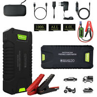 20000mAh 1000A Car Jump starter Portable 15V Booster Battery Charger Power Bank