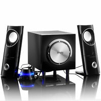 Laptop PC Stereo Desktop Speaker 1200W Subwoofer Sound System Set 2.1 Remote