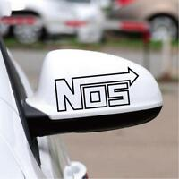 Nos Car Sticker Racing Emblem Badge Euro Nitrous Oxide Systems Vinyl Car Decal