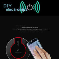 Qi Wireless Fast Charging Desktop Mobile Phone Charger Pad Samsung S8 S7 US