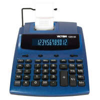 VICTOR Desktop Calculator,Ink Roller,12 Digits, 1225-3A