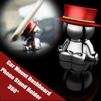 360°Magnetic Universal Car Auto Mount Dashboard Cell Phone GPS Stand Holder-Red