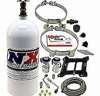 Nitrous Express ML1000 - MAINLINE CARB. SYSTEM WITH 10LB BOTTLE