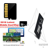 GPS Map Micro SD Card Middle East Map Egypt Kuwait MTK Main Chip 8G-WINCE System