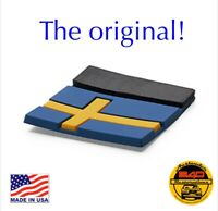 Genuine Volvo OEM Rubber Sweden Swedish Flag Tag Emblem Decal Label XC40