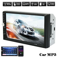 7inch Car Stereo Mp5 Player Touch Screen Bluetooth Radio 2din HD FM USB TF AUX