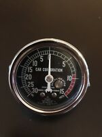 MARSH  SUPERCHARGER GAUGE MCCULLOCH PAXTON SUPERCHARGER