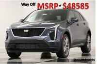2019 Cadillac XT4 XT4 MSRP$48585 AWD Sport Leather Shadow Metallic New Camera Remote Start Heated Cooled Black Seats 18 17 2018 19 A