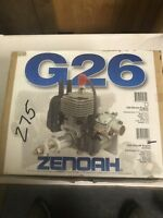 Zenoah G26 Gas Engine New Inbox With Extras