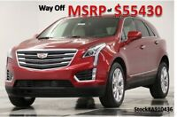 2019 Cadillac XT5 XT5 MSRP$55430 Luxury GPS Sunroof Leather Red New Heated Sahara Tan Seats Navigation Sunroof Camera CUE SRX 18 2018 19 EZ Key