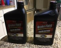 BG Brake Fluid Dot 4 Ultra-Dry Flushing Formula PN 84032 (32 OZ) Lot Of 2.