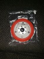 Chemical Guys TORQ R5 Dual Action Red Backing Plate BUFLC_201