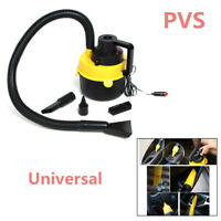 Yellow 120W Portable Wet and Dry Electric Handheld Suction Car Vacuum Cleaner 1X