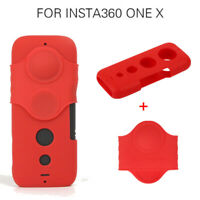 Dust-proof Lens Soft Silicone Cover Protective Case For Insta360 One X Camera